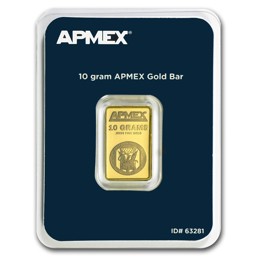 10 gram Gold Bar - APMEX (TEP)