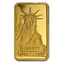 10 gram Gold Bar - Credit Suisse Statue of Liberty