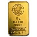 10 gram Gold Bar - Engelhard