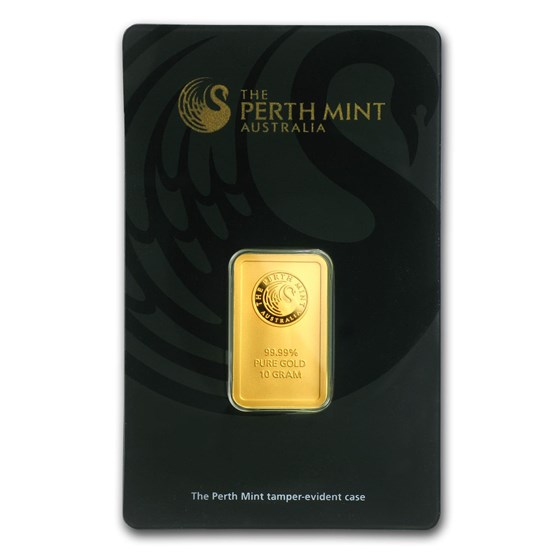 10 gram Gold Bar - The Perth Mint (In Assay)