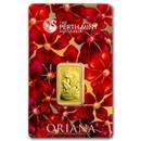 10 gram Gold Bar - The Perth Mint Oriana Design (In Assay)