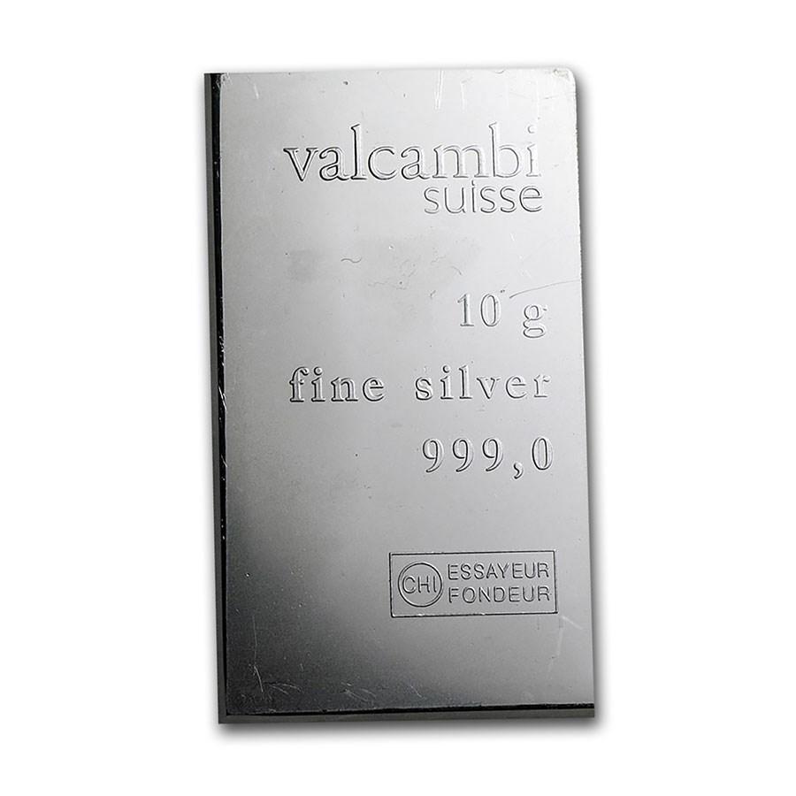 10 gram Silver Bar - Secondary Market