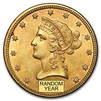 $10 Liberty Gold Eagle BU (Random Year)
