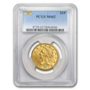 $10 Liberty Gold Eagle MS-62 PCGS (Random)