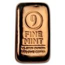10 oz Cast-Poured Copper Bar - 9Fine Mint