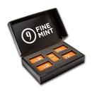 10 oz Cast-Poured Silver Bar - 9Fine Mint (5 pc. Multi-Pak)