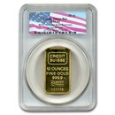 10 oz Gold Bar - Credit Suisse PCGS World Trade Center Recovery
