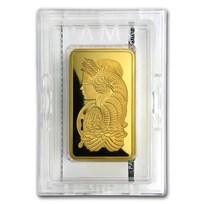 10 oz Gold Bar - PAMP Suisse Lady Fortuna Veriscan® (w/Assay)