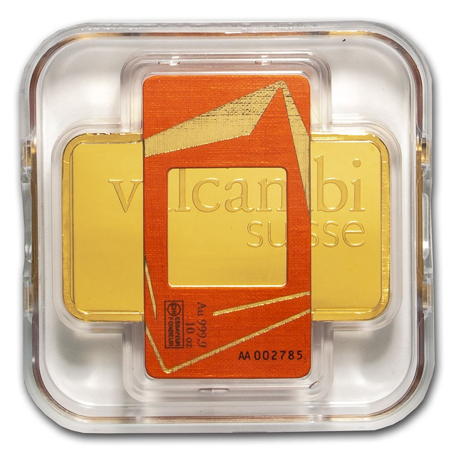 10 oz Gold Bar - Valcambi (In Assay)