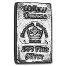 10 oz Hand Poured Silver Bar - MPM