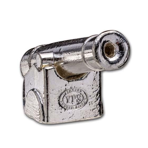 10 oz Hand Poured Silver - Cannon Set
