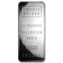 10 oz Palladium Bar - Secondary Market