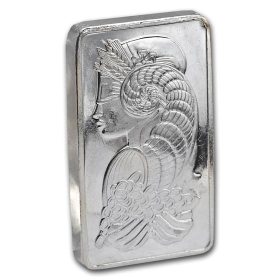 10 oz Platinum Bar - PAMP Suisse (.9995 Fine, w/out Assay)
