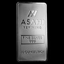 10 oz Silver Bar - Asahi