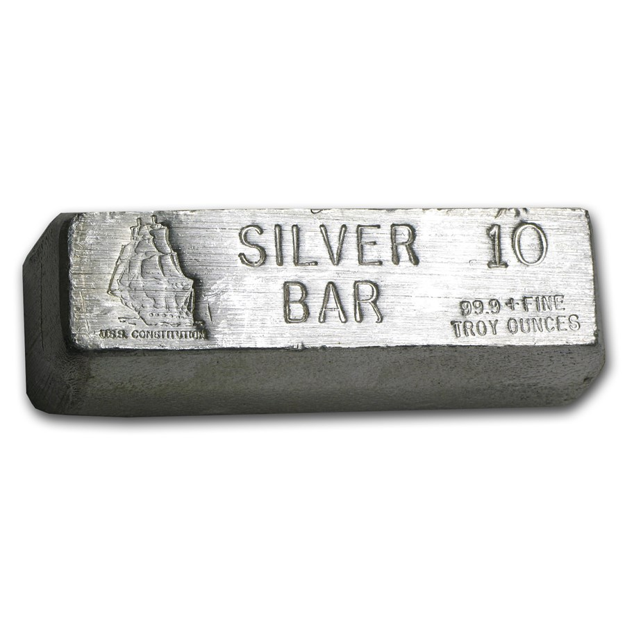 10 oz Silver Bar - CMI
