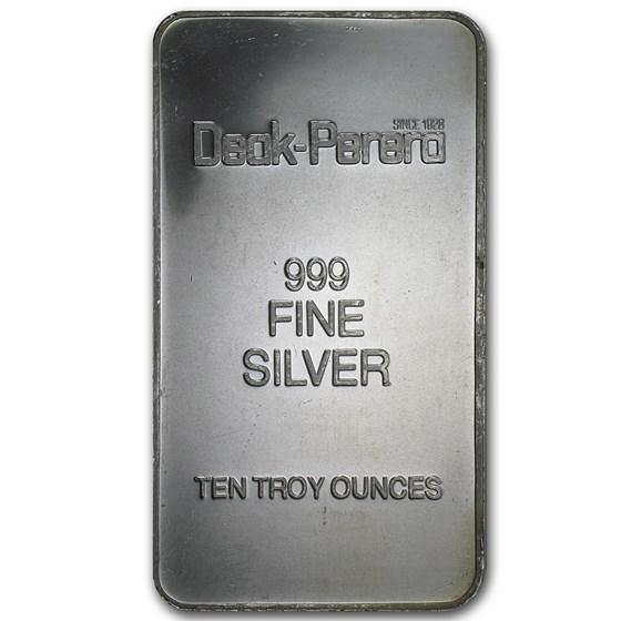 10 oz Silver Bar - Deak-Perera