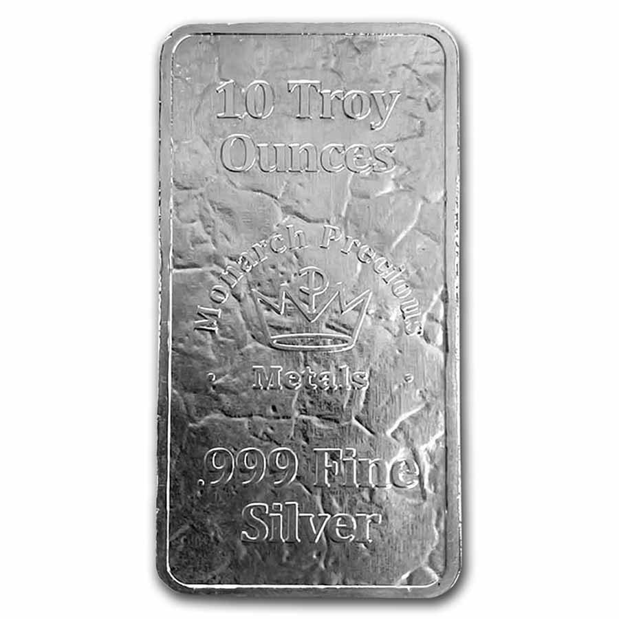 10 oz Silver Bar - MPM (Monarch, Struck)