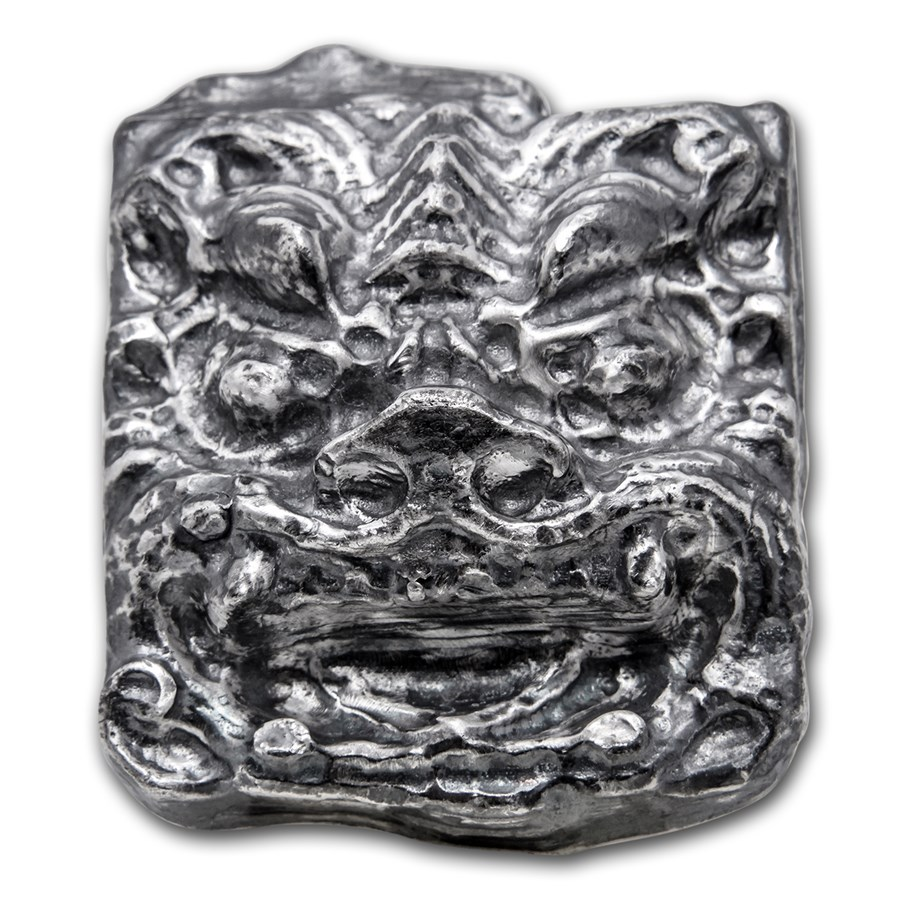 10 oz Silver - MK Barz & Bullion (3D Chinese Dragon)