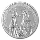 10 oz Silver Round - Germania Allegories 2019 BU (Britannia)