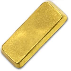 100 gram Gold Bar - Degussa (Loaf Style)