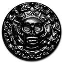 100 gram Hand Poured Silver Round - Plata Muerta