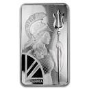 100 oz Silver Bar - The Royal Mint Britannia