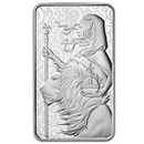100 oz Silver Bar - The Royal Mint Una and the Lion