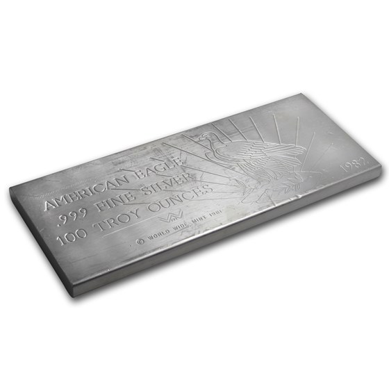 100 oz Silver Bar - World Wide Mint