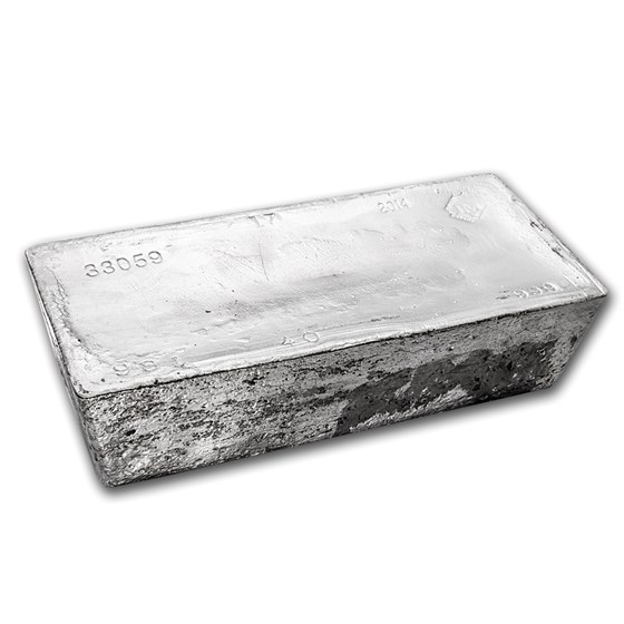 1007.60 oz Silver Bar - ASAHI (#01165-8)
