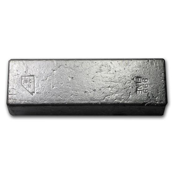 101.00 oz Silver Bar - Nevada Coin Mart
