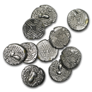 11th century India Chalukya Empire Silver Drachm XF