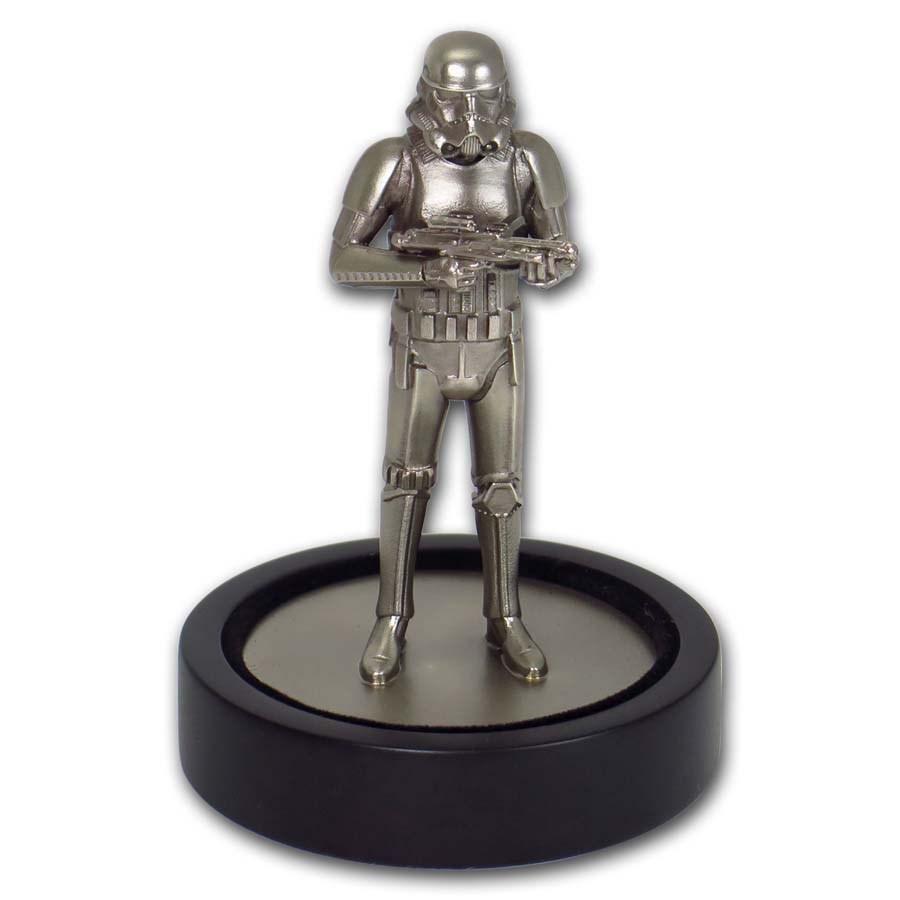 130 gram Silver Stormtrooper Miniature Statue