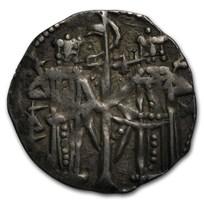 1331-1355 Bulgaria Silver AR Grosh Ivan Alexander