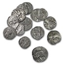 (1346-1371 AD) Serbian Empire Silver Dinar