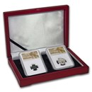 (135-104 BC) Ancient Trade Coins of Jerusalem 2-Coin Set