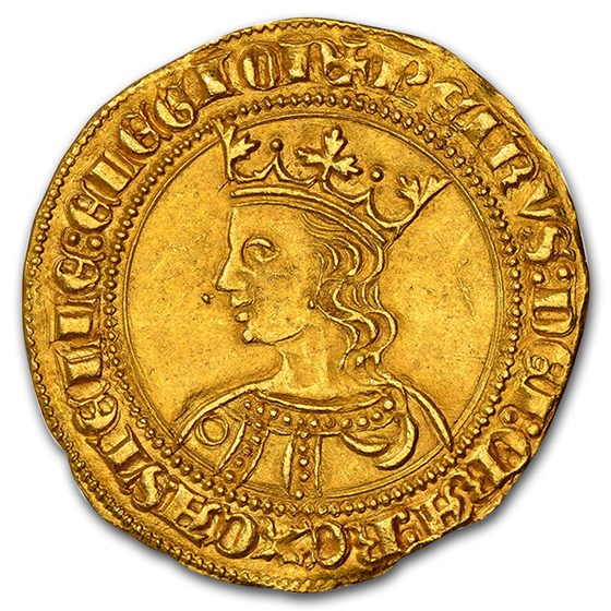1350-1369 Castile & León Gold Dobla Pedro the Cruel MS-63 NGC