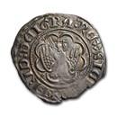 (1355-1377)-P Sicily AR Pierreale Frederick III AU (Mir-194/170)