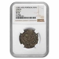 (1385-1433) Portugal Billon Real Joao I XF-45 NGC