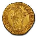 1447-55 Papal States Gold Ducat Nicholas V MS-62 PCGS