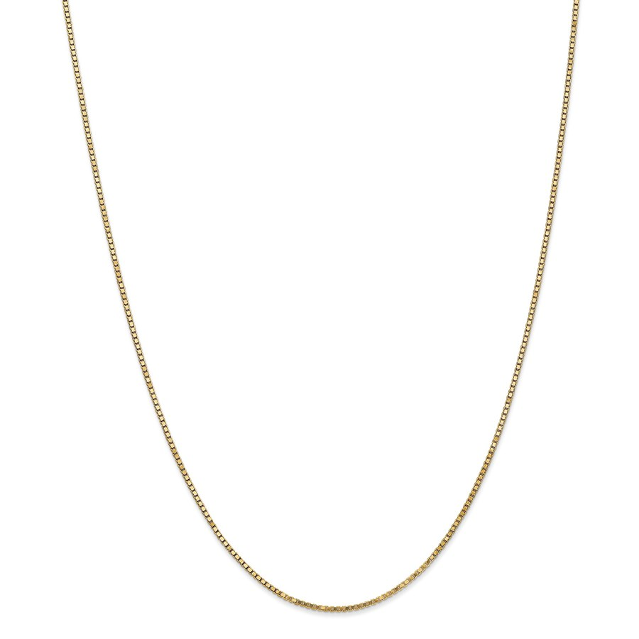 14k 1.3 mm Box Chain Necklace - 16 in.