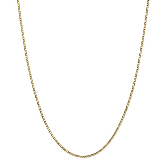 14k 1.5 mm Box Chain Necklace - 20 in.