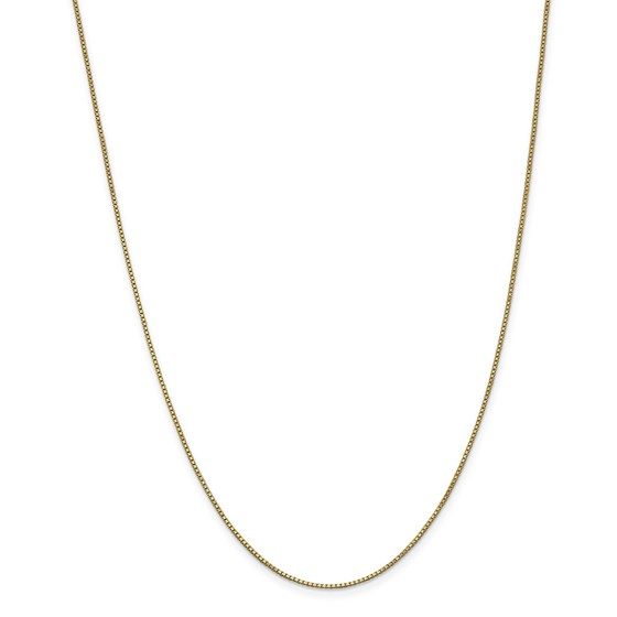 14k .5 mm Cable Rope Chain Children's Necklace - 13 in.