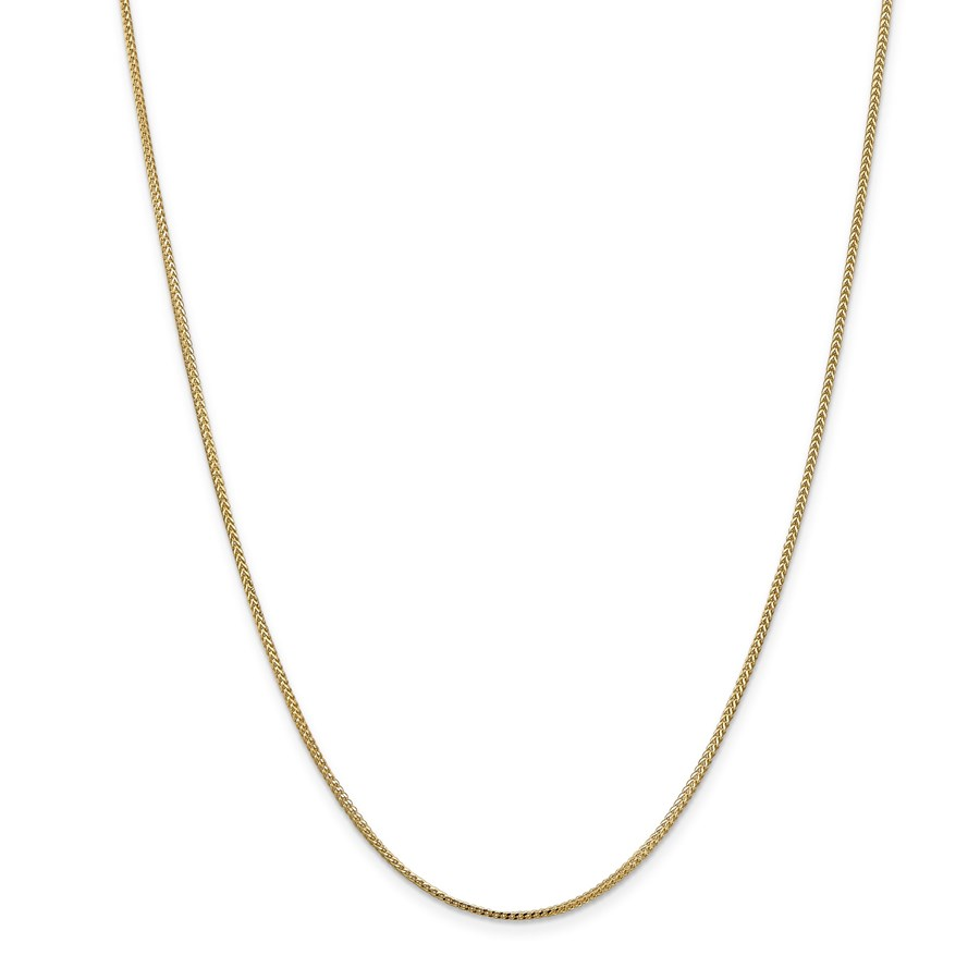 14k Gold 1.0 mm Franco Chain Necklace - 18 in.