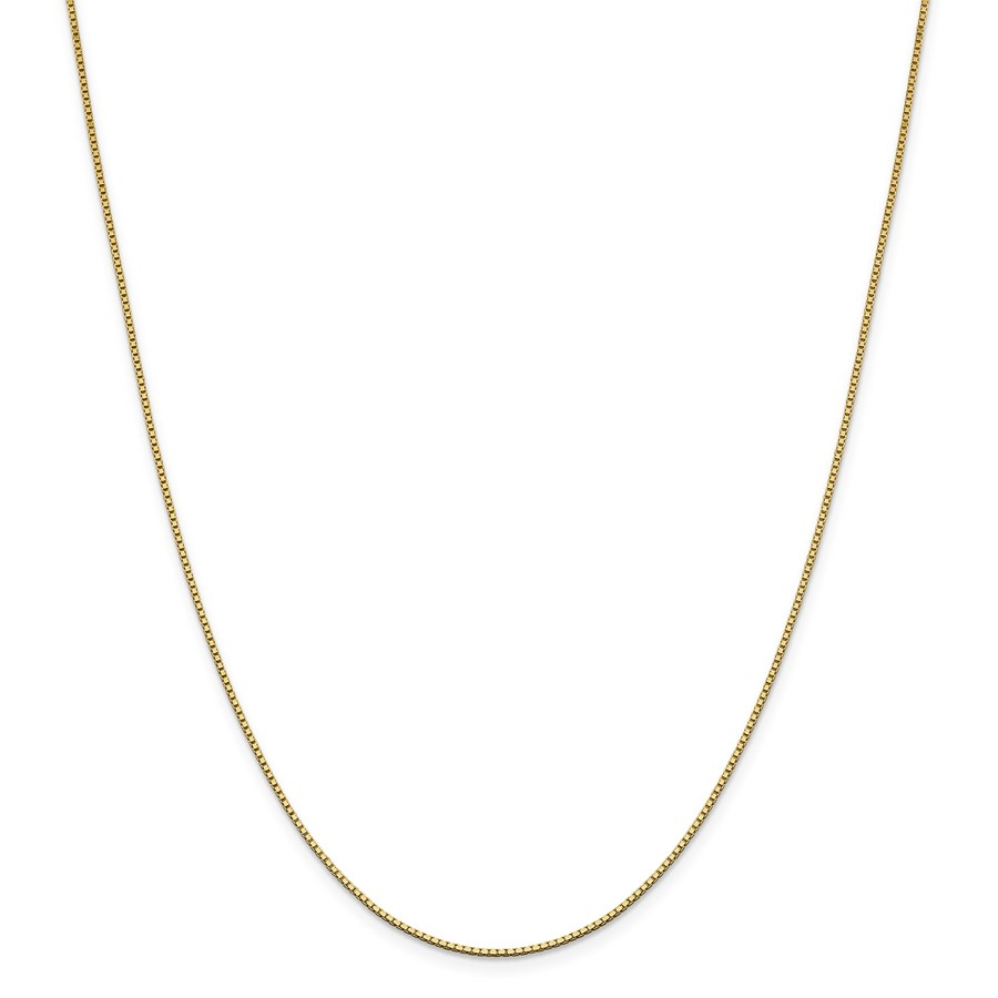 14k Gold 1.05 mm Box Chain Necklace - 18 in.