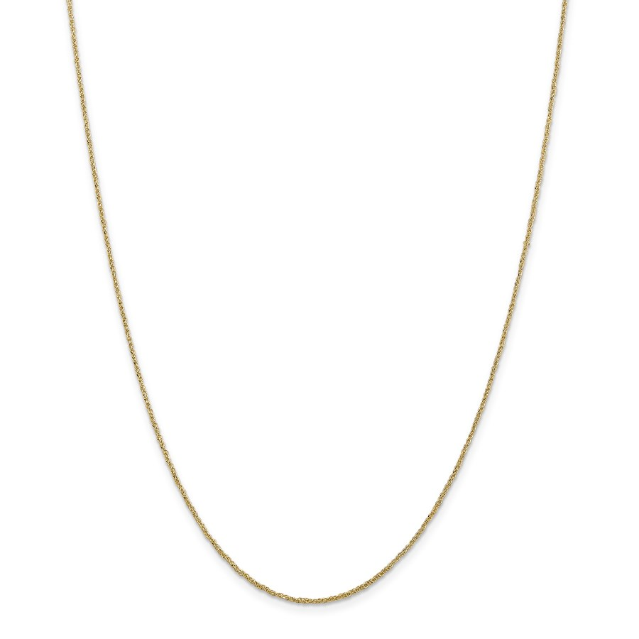 14k Gold 1.1 mm Ropa Chain Necklace - 16 in.