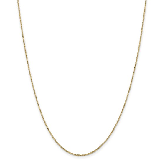 14k Gold 1.1 mm Ropa Chain Necklace - 20 in.