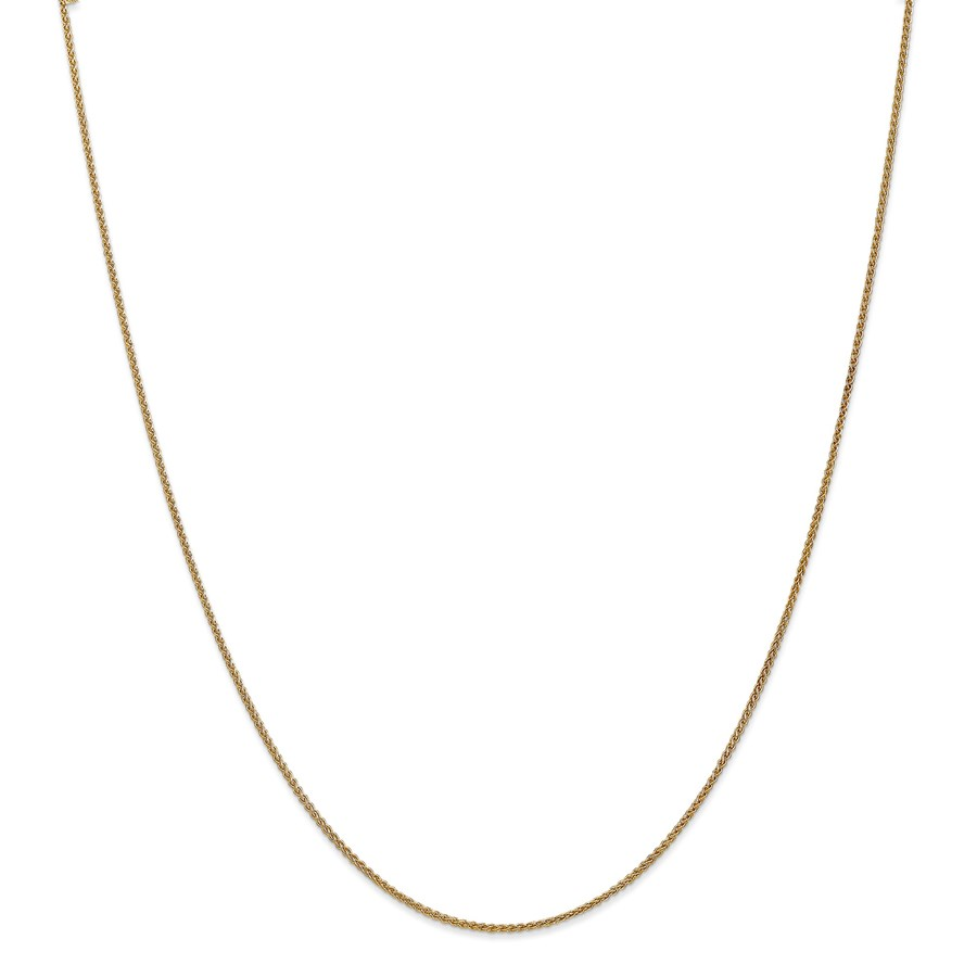 14k Gold 1.25 mm Spiga Chain Necklace - 20 in.