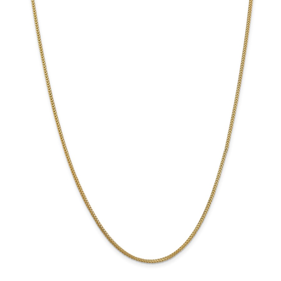 14k Gold 1.3 mm Franco Chain Necklace - 18 in.