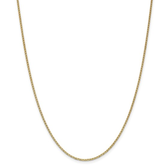14k Gold 1.5 mm Anchor Link Chain Necklace - 16 in.