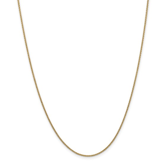14k Gold 1.5 mm Cable Chain Necklace - 16 in.